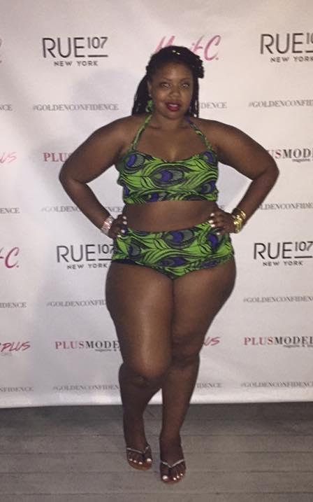 Shayla of Boston Curvy Fashion Week, Healthy Curves Ambassador.