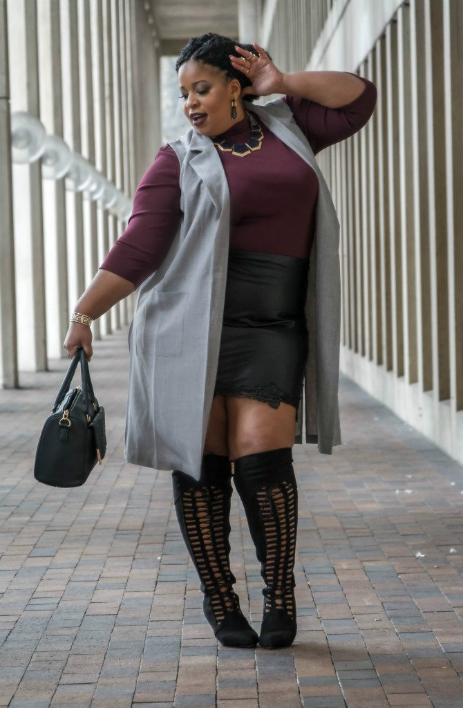 Plus Size Over the Knee Boots