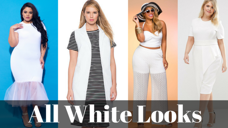 All White Looks