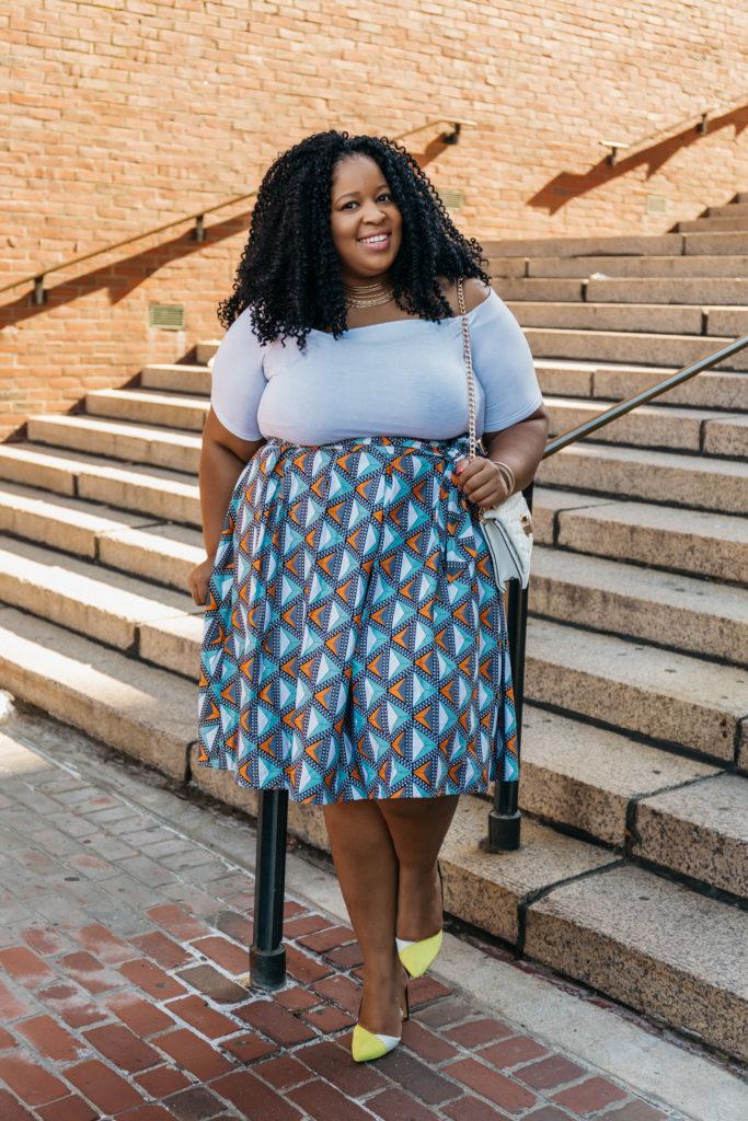 cPlus Size Blogger Wearing Eloquii