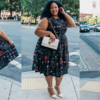 Plus Size Blogger Wearing Vintage from Voodoo Vixen