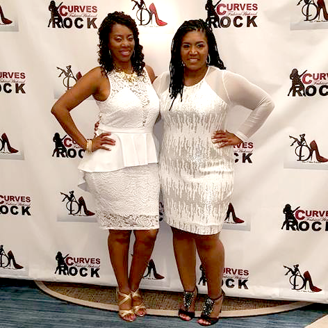 Tykesha and Chanell of Curves Rock Weekend