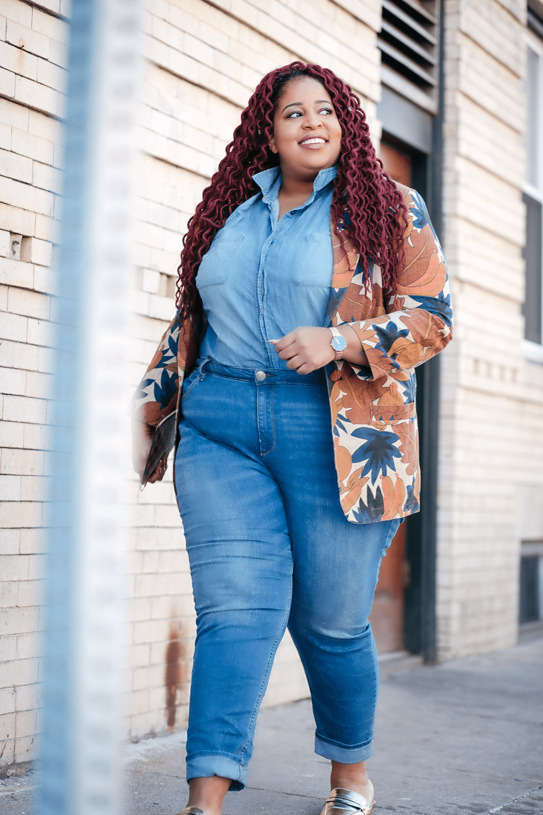 plus size thrift shopping