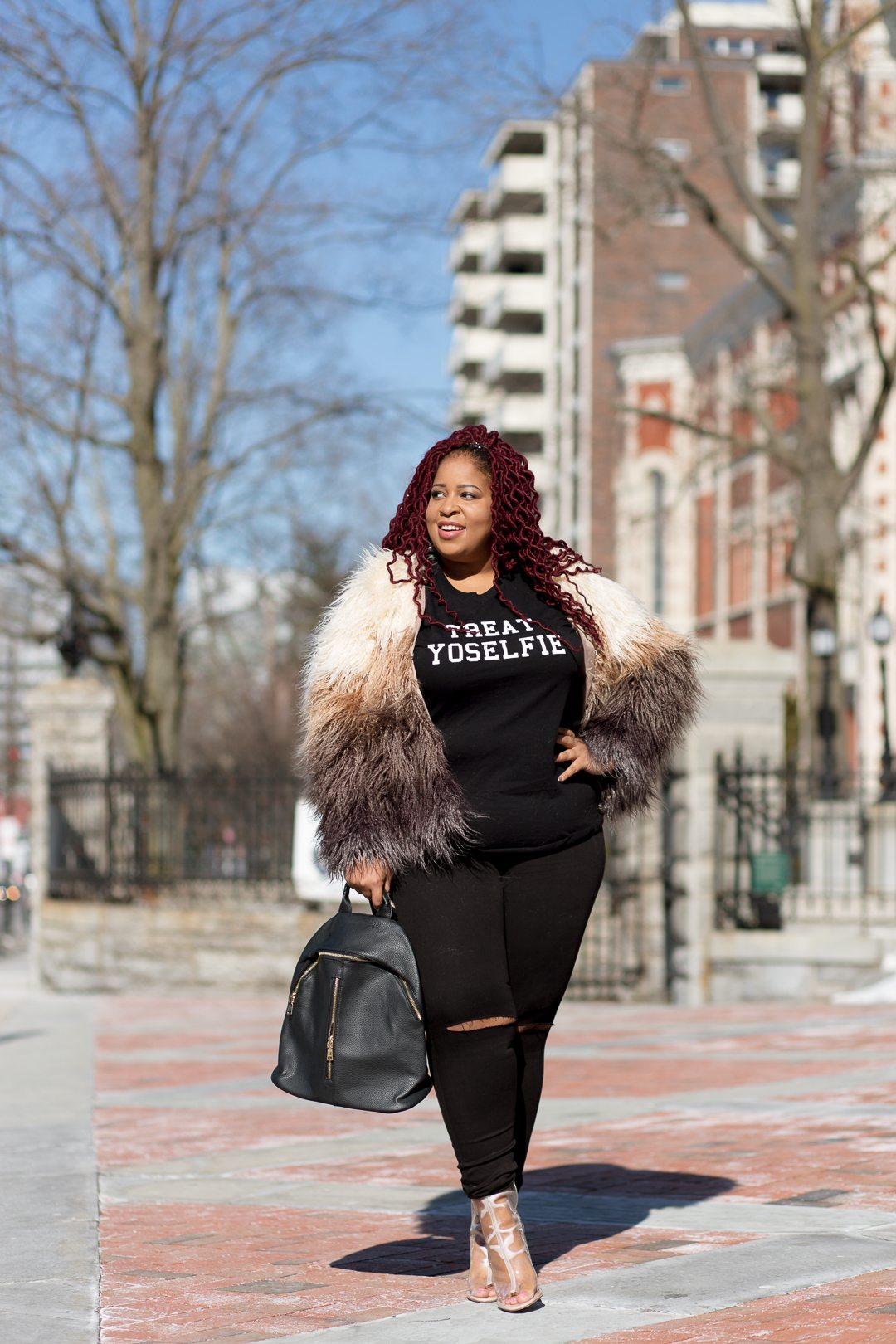 Plus Size Blogger wearing Shop Love Yourz