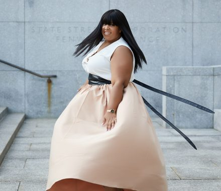 Plus Size Maxi Skirt by Society +
