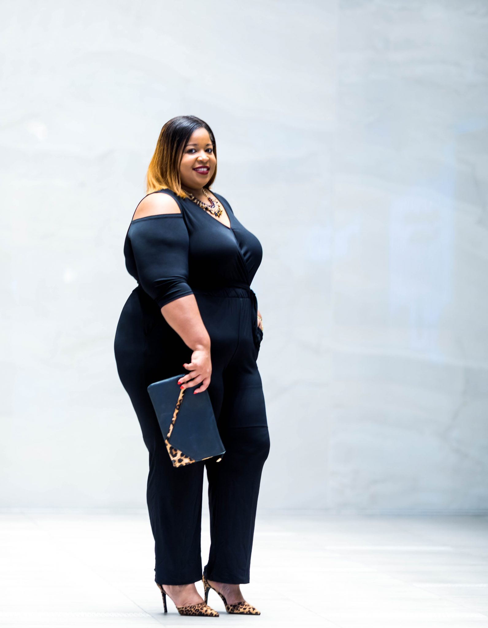Plus Size Jumpsuit by NY Collection for Macy's