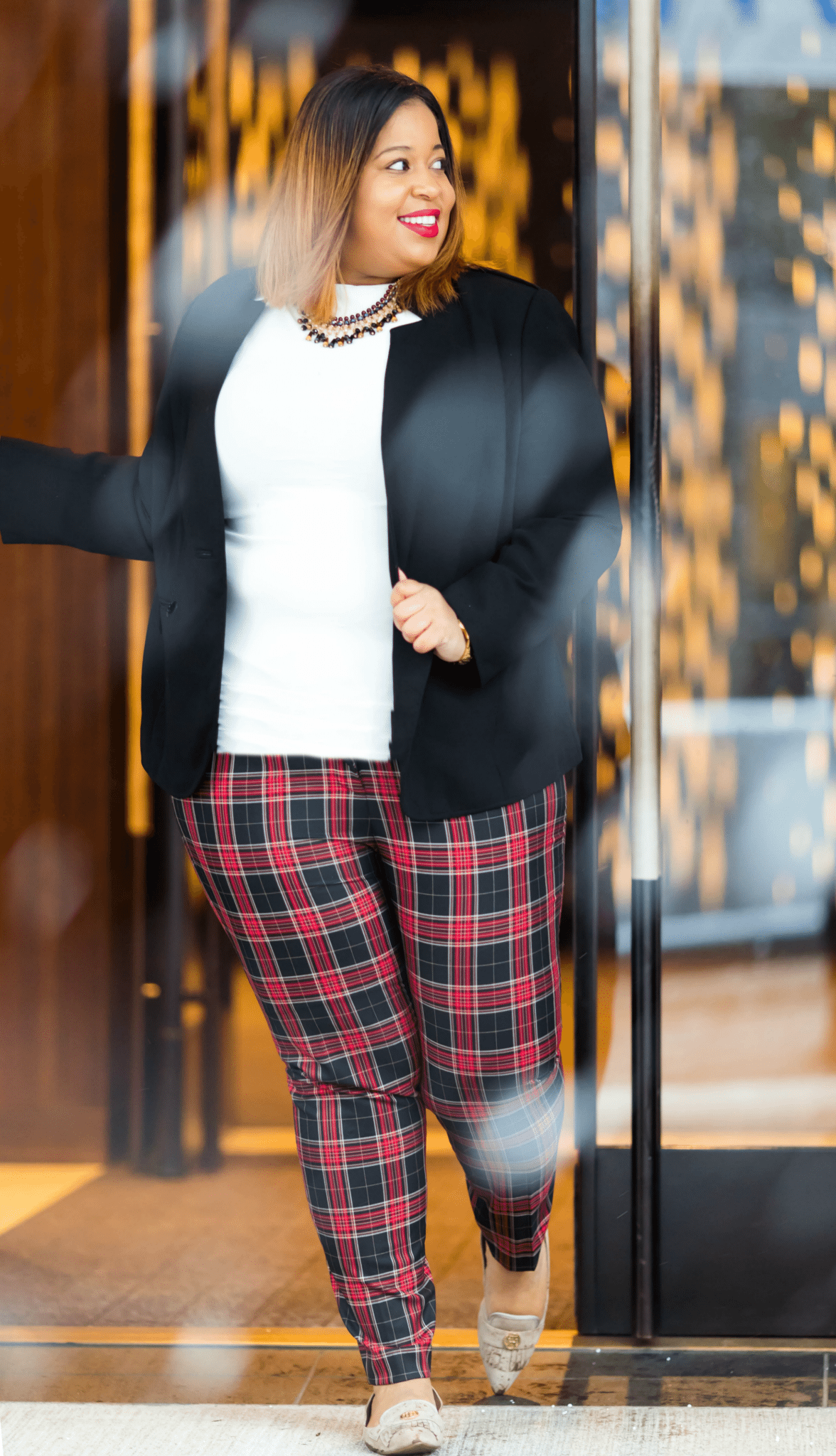 Plus Size Plaid Pants from Tommy Hilfiger for Macys