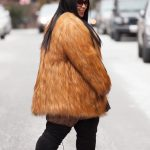 Chardline Rent the Runway Plus Size Fur