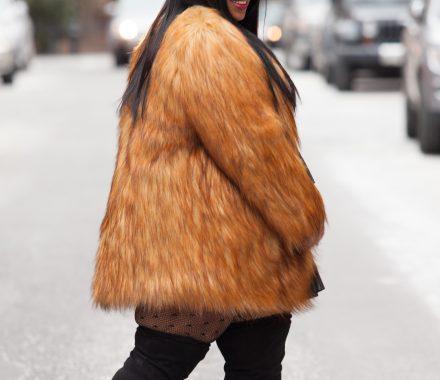 Chardline Rent the Runway Plus Size Fur
