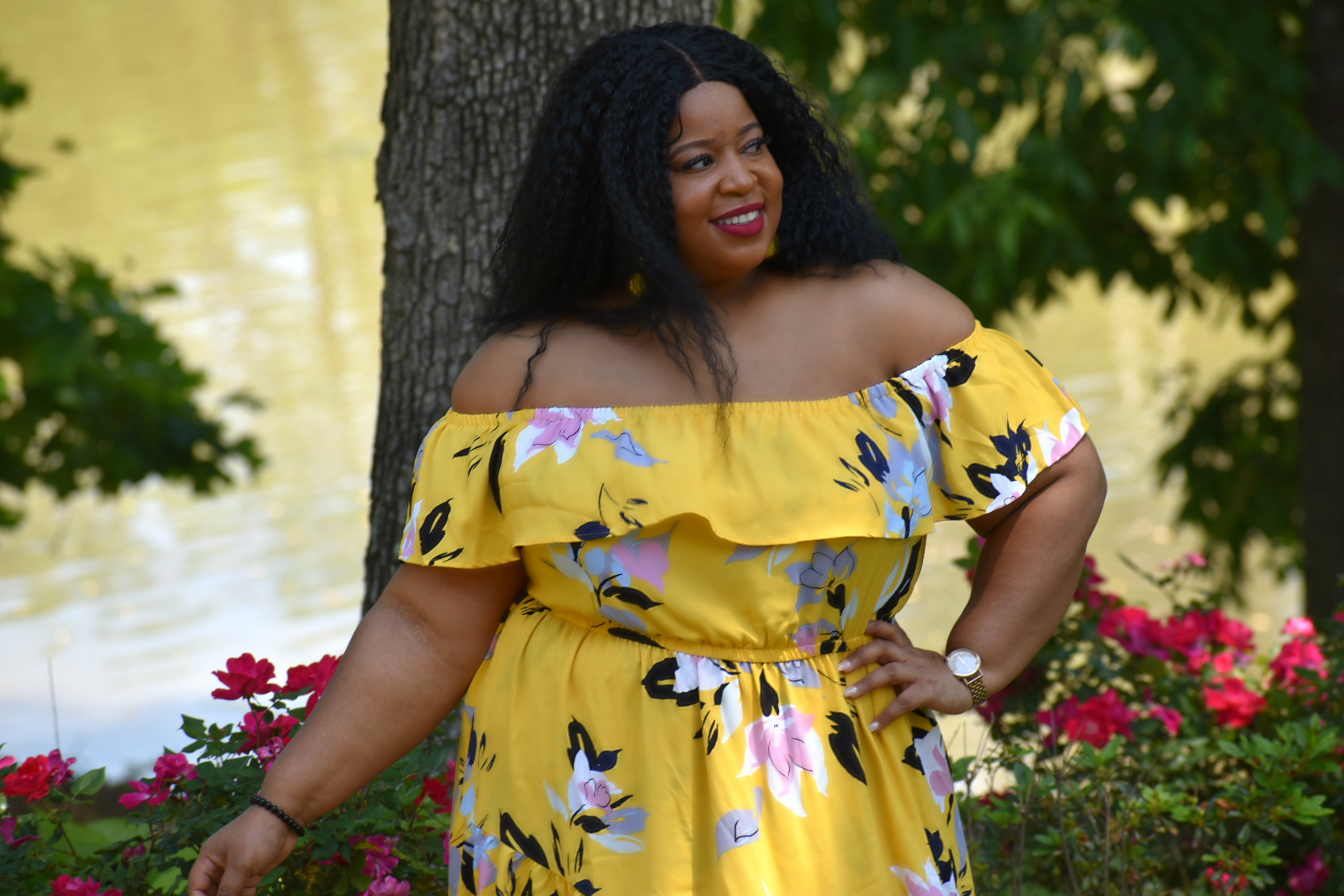 Lane Bryant Chardline Summer Dress