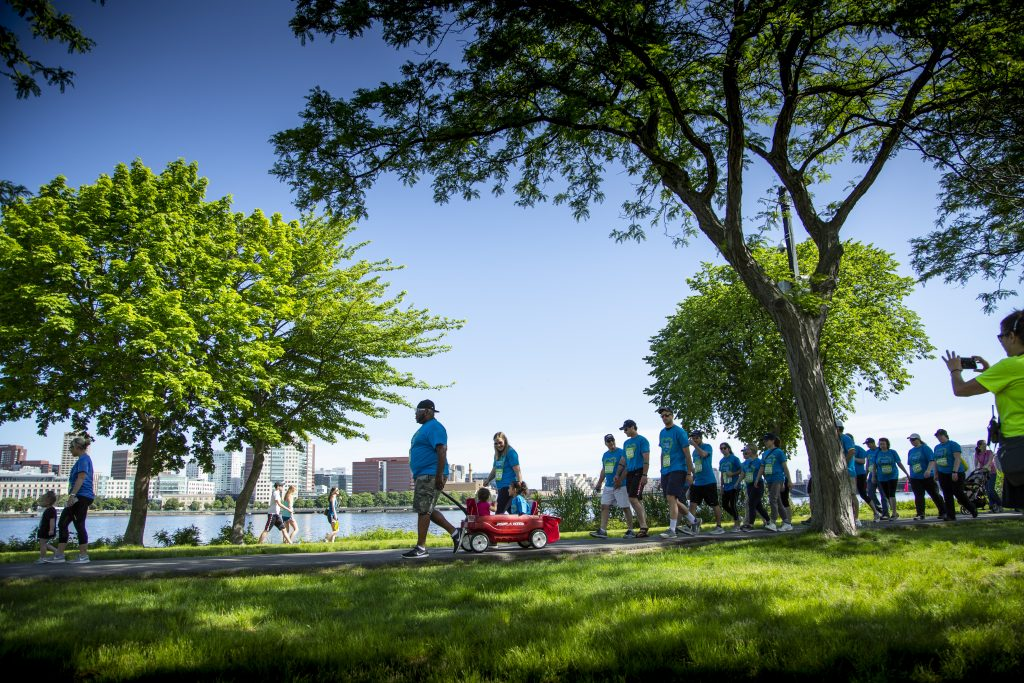 Eversource Walk for Boston Children's Hospital