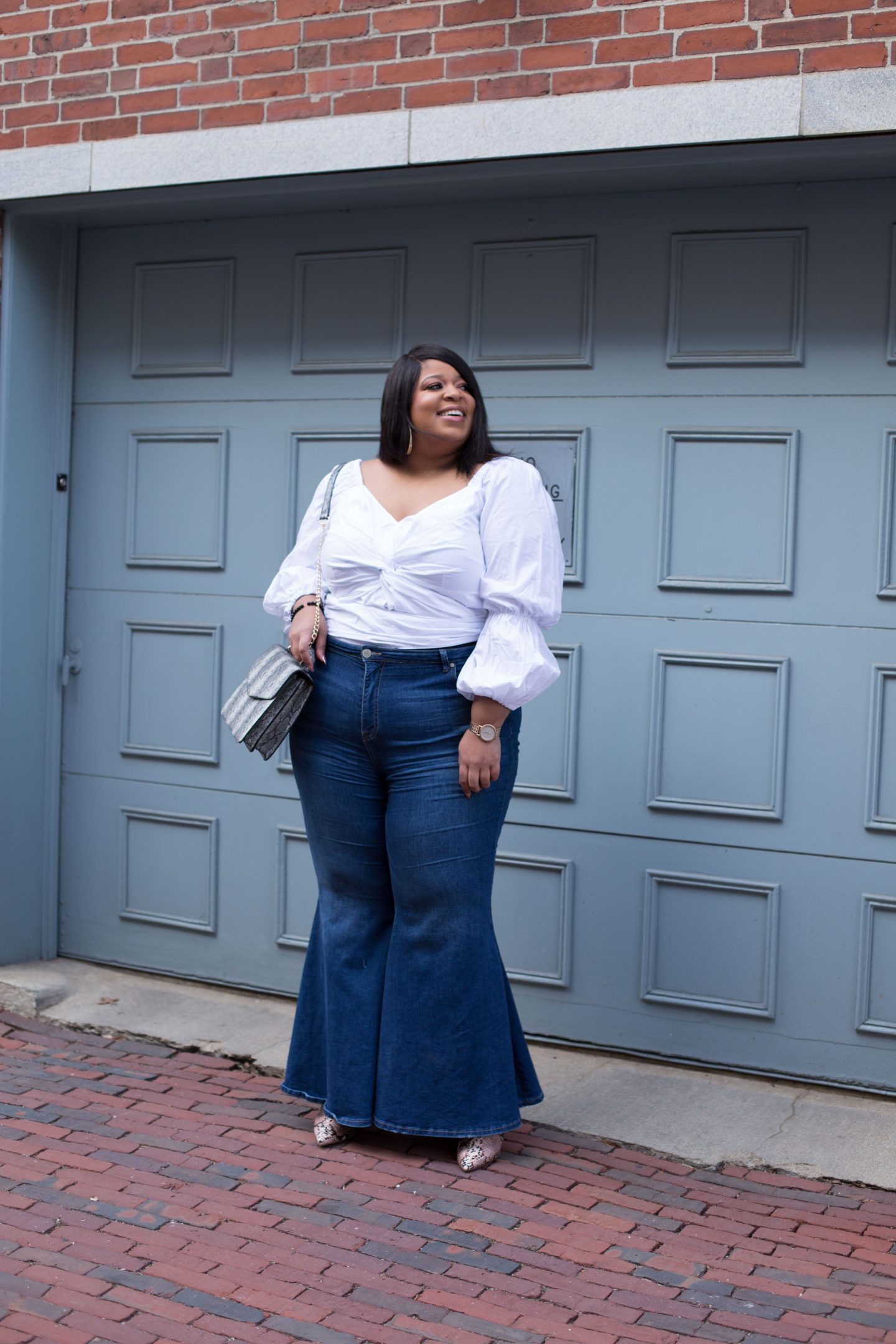 Plus Size Bell Bottoms