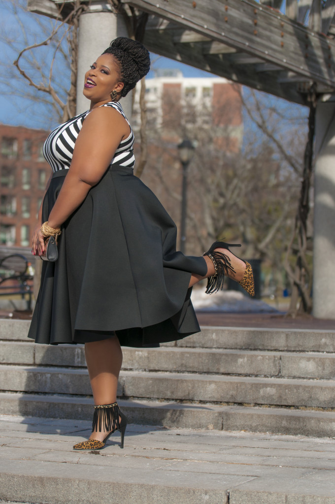 Plus-Size-Blogger-In-Peplum-Shirt