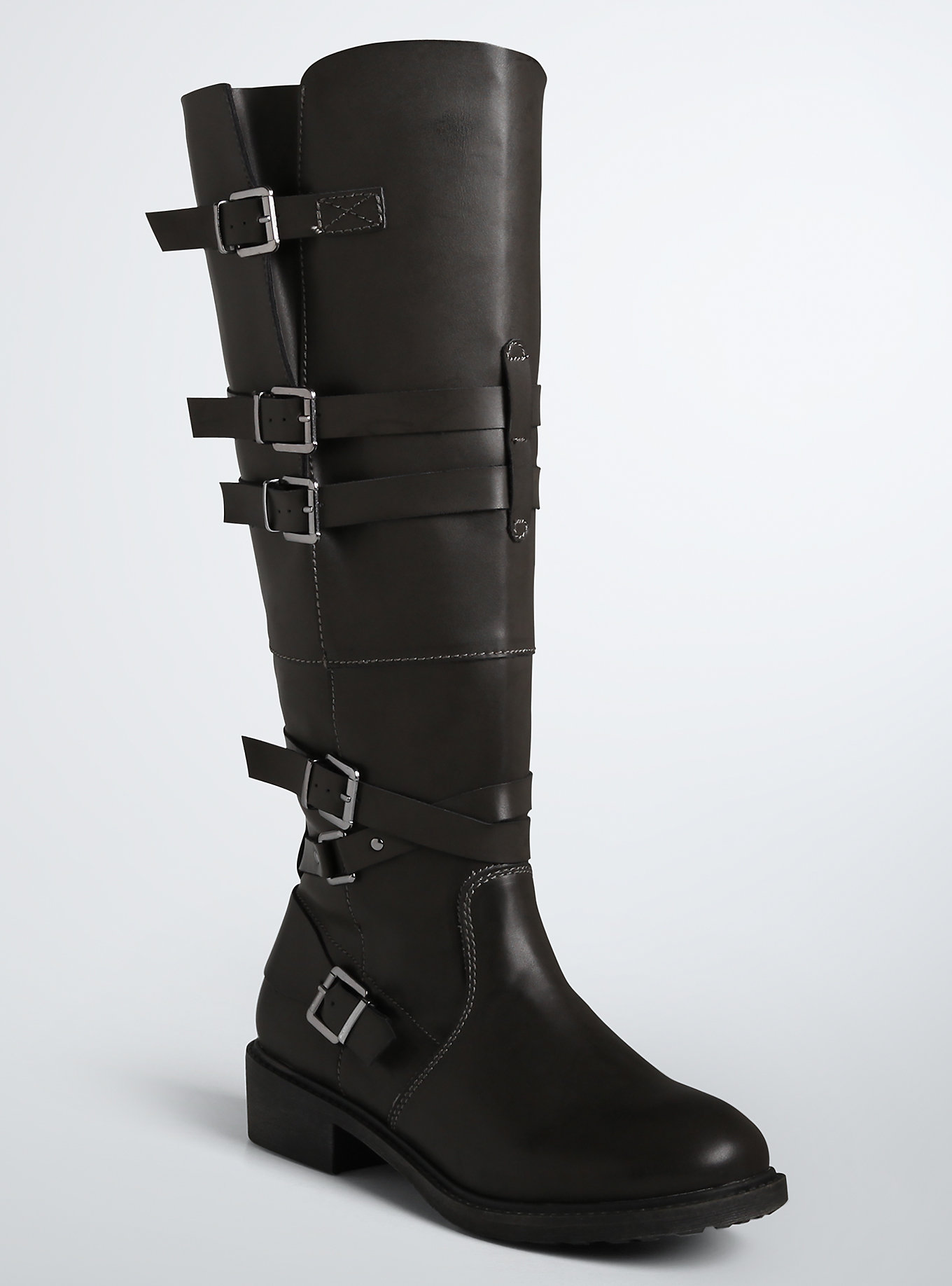 If you are a size 11-13, Torrid's boots go up to a size 21 inches on the calf.